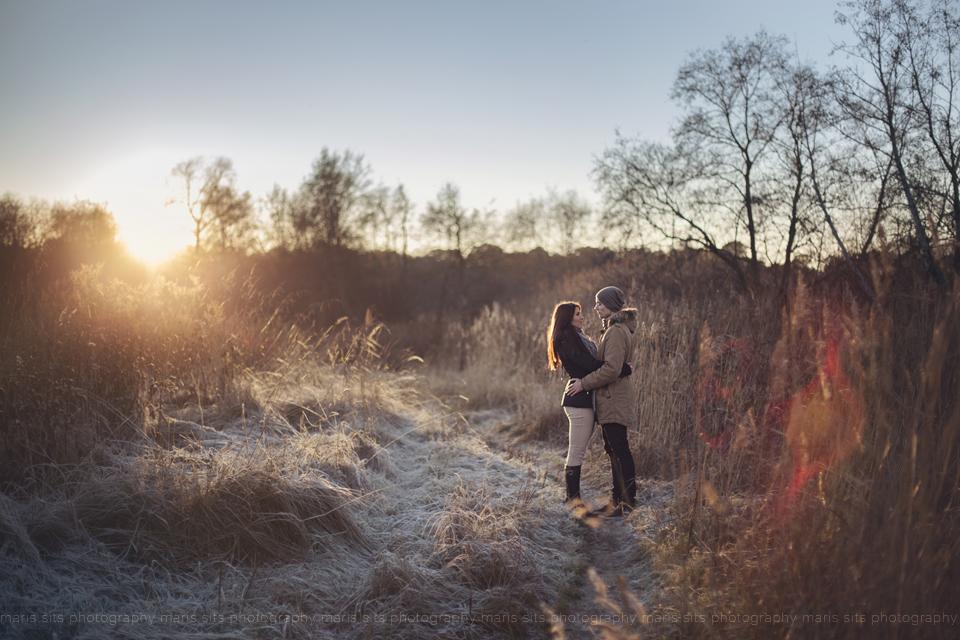 Maris Sits fotosessioon looduses talvel (11)