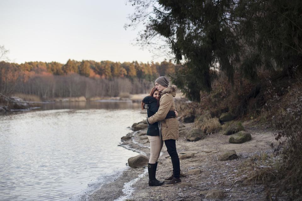 Maris Sits fotosessioon looduses talvel (13)