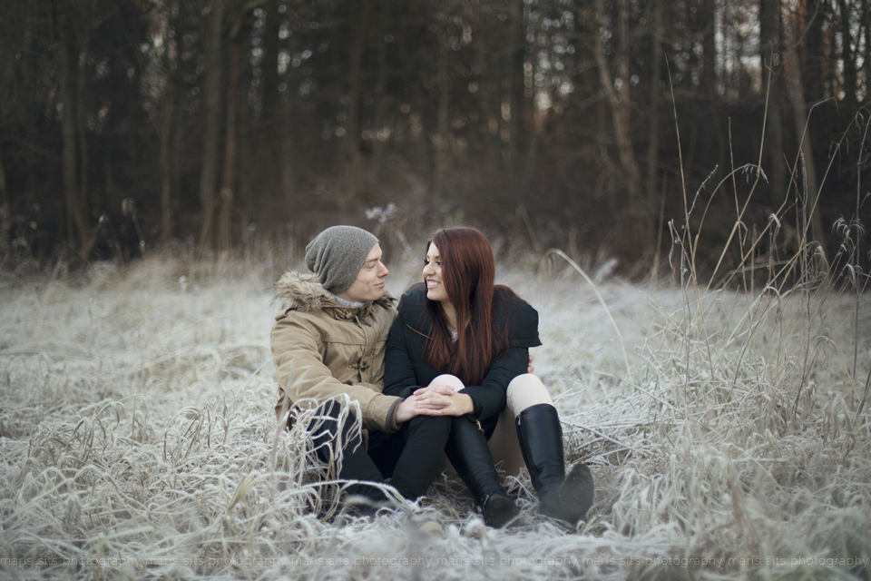Maris Sits fotosessioon looduses talvel (8)